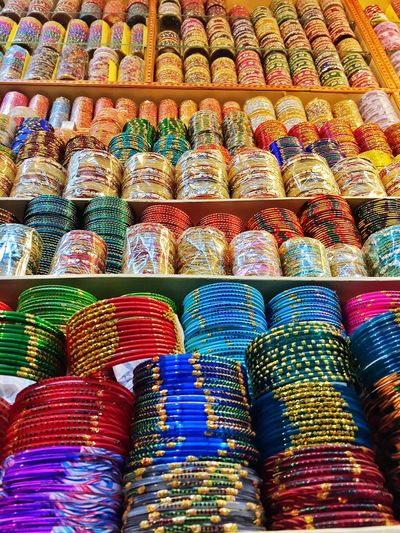This is INDIA... Bangles Colours Colorful Pattern, Texture, Shape And Form Ethnic IPhoneography