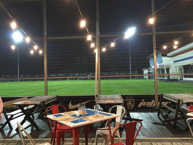 Johor Illuminated Night Lighting Equipment Chair Table No People Outdoors