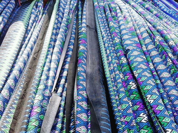 Full Frame Shot Of Sarongs For Sale At Market