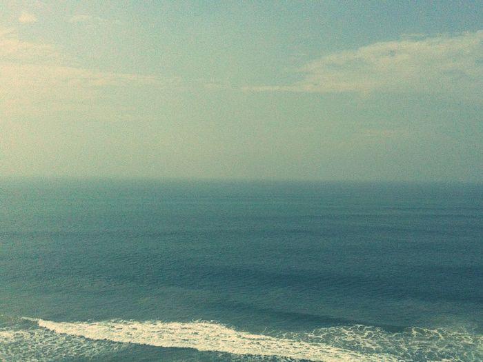 Sea Beach Horizon Over Water