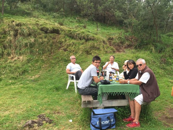 Nature Picnic Group Of People Women Men Grass Friendship Food And Drink Modern Hospitality