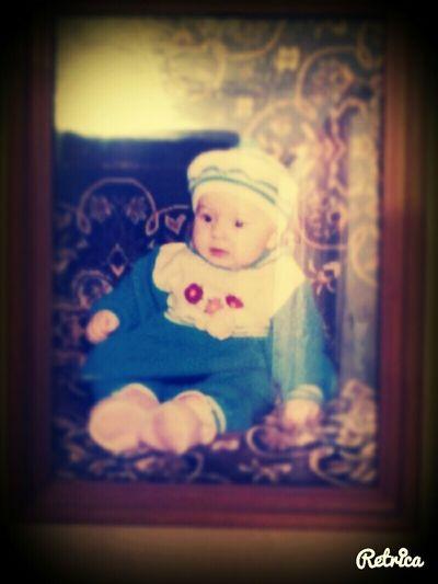 это я маленькая в детстве
