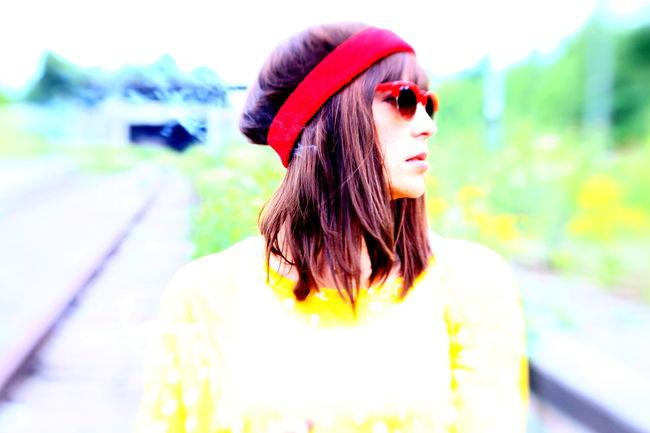 Lensbaby  Summer Summergirl  Sunglasses Yellow