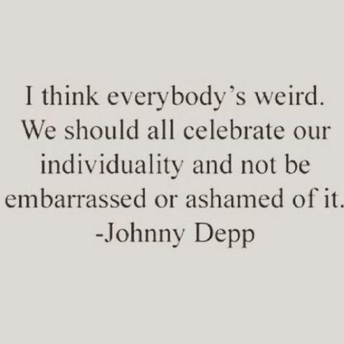 Be Differend Person Johnnydepp 👊👌✌