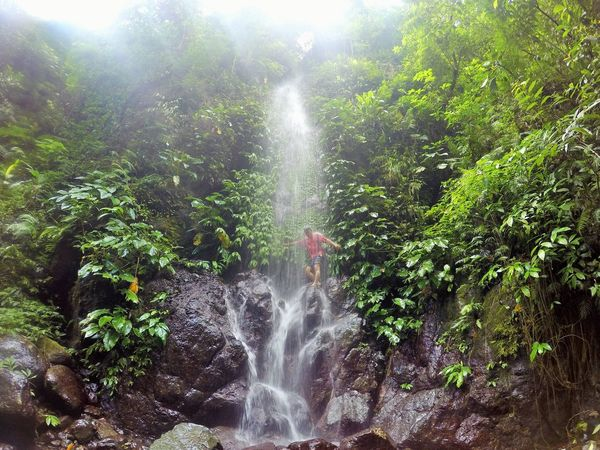 waterfalls and my friend Beauty In Nature EyeEnNewHere Falls Nature Photography Outdoor Photography Travel Water Waterfall Live For The Story