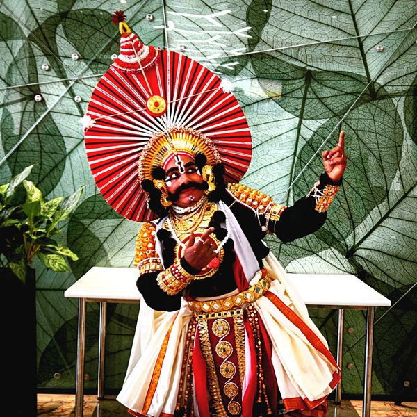 Yakshagana Karnataka Traditional Culture Play Artist Life Bangalore EyeEm Gallery EyeEm Best Shots The Portraitist - 2017 EyeEm Awards This Is My Skin