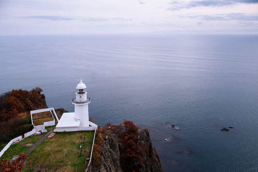 Cape Chikyu in Autumn Water Sea Scenics - Nature Beauty In Nature Tranquility Nature Tranquil Scene Horizon Over Water Horizon Outdoors Japan Hokkaido Muroran Cape Chikyu Cape  Ocean Pacific Ocean Waves Seascape Autumn Seasonal Travel Travel Destinations Trip