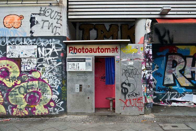 Fotoautomat Kreuzberg Urban Kottbussertor Lifestyle Photoautomat Street Art Graffiti