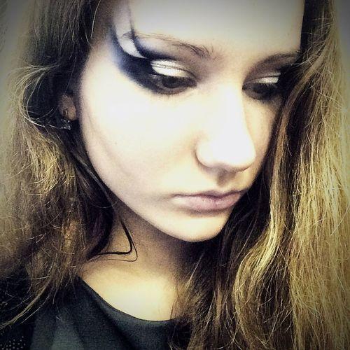 этоя  макияж  Selfie глаза