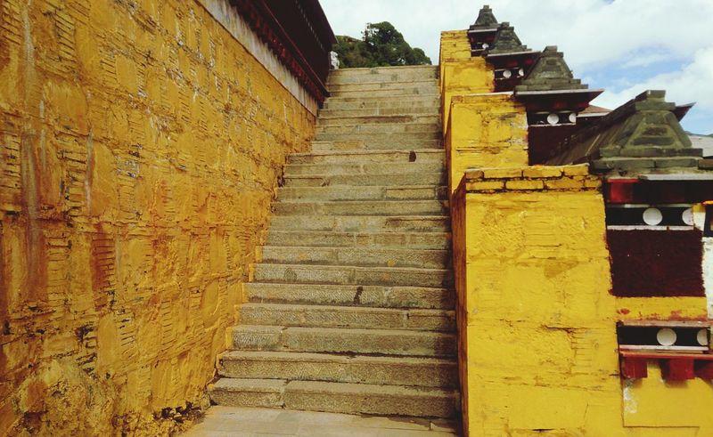 Historical Building Gansu China View