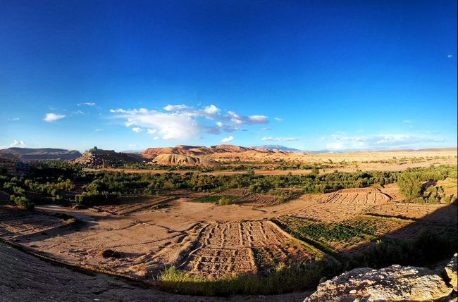 No People Agriculture Landscape Day Outdoors Scenics Beauty In Nature Sky Atlas Mountain Travel Ancient Travel Destinations History Morocco Ancient Civilization Maroc ❤️ Ait-Ben-Haddou