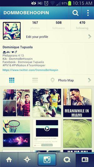 Follow Me On Instagram #Follow #Follow #Follow @DommoBeHoopin
