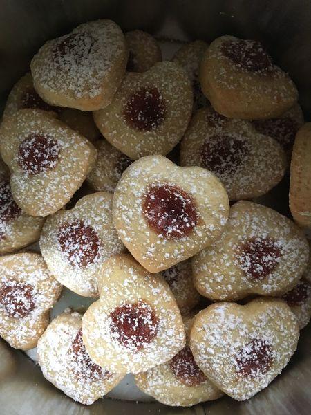 Marmelade Winter Cookies Kekse Backen Food Food And Drink Sweet Food Baked Close-up Sweet No People