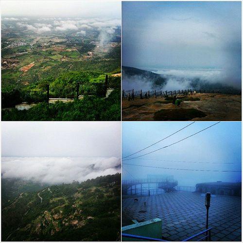 Sheer beauty. Nandi hills :D Hills Frigging Cold Random trip