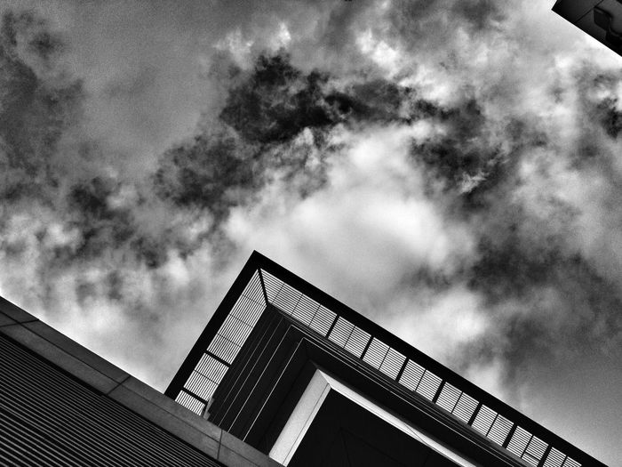 Bnw Building Clouds Ipone @pune Just Around The Corner The Great Outdoors - 2015 EyeEm Awards