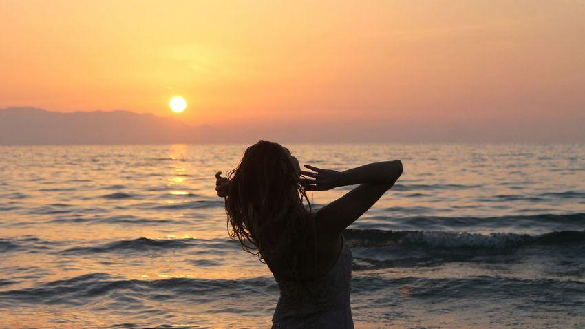 Relaxing Enjoying The Sun Sea Kusadasi Kadınlar Denizi Life Is A Beach Swimming Sunset Enjoying The Sunset Hello World