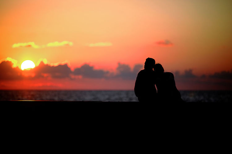 romantic sunset Women Romantic Romanticism Far People Love Sunset Collection Photography Themes Sunset Photographing Sea Water Silhouette Men Sky Photographer Photographic Equipment Coast Horizon Over Water Shore Ocean My Best Travel Photo A New Beginning Moments Of Happiness My Best Photo #NotYourCliche Love Letter International Women's Day 2019 Moms & Dads Streetwise Photography The Art Of Street Photography The Traveler - 2019 EyeEm Awards