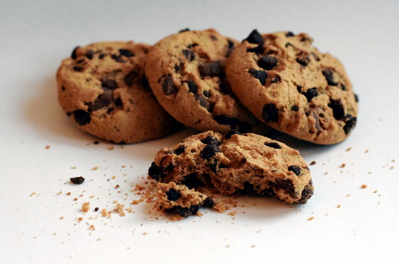 Chocolate cookies Bisquits Chocolate Cookies Coffee Time Cookies Food And Drink Snack Baked Bisquit Chocolate Chip Chocolate Chip Cookie Chocolate Chips Close-up Cookie Delicious Delicious Cookies Food Food And Drink No People Sweet Food Sweet Foods Sweets Tasty White Background White Backround