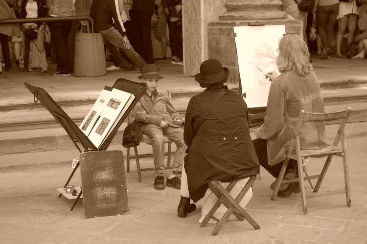 Florence Artist Ufizzi Painting Artist Florence #italy #Painting #Creating #Artist #Florence