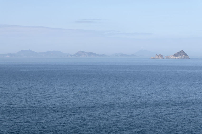 seaside view of Deungdaeseom Island (lighthouse island) by Somaemuldo in the sea of Tongyeong, Gyeongnam, South Korea. Deungdaeseom Island View  Nature's Beauty Nikon D850 Scenic Tongyeong Tranquility Beauty Of Nature Bright Day D850 Outdoor Outdoors Peace In Nature Peaceful Island Life Scenics Seascape Seaside View Somaemuldo Tranquil Scene