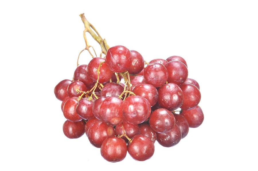 crimson grape isolated on white Agriculture Berry Bunch Crimson Crimson Grape Freshness Fruit Grape Healthy Eating Isolated On White Juice Red Tasty Toys Vegetable Vitamin