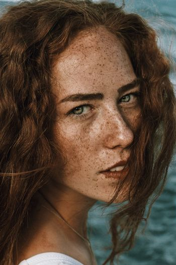 Portrait Looking At Camera Redhead Beautiful Woman One Person Headshot Close-up Beauty Real People Young Adult Day Outdoors One Woman Only Adult Adults Only People EyeEmNewHere EyeEmNewHere Fresh On Market 2018