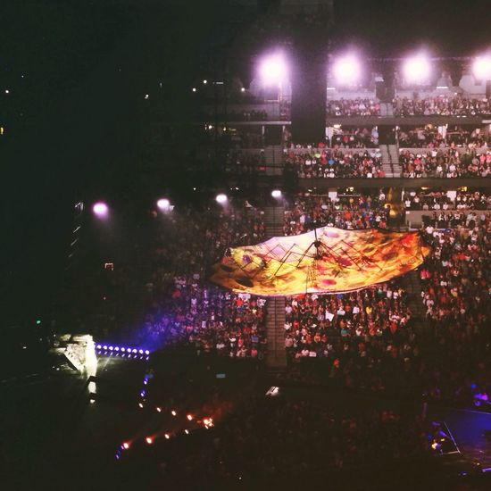 One of the more intimate moments at Katyperry Concert Pepsicenter Denver,CO