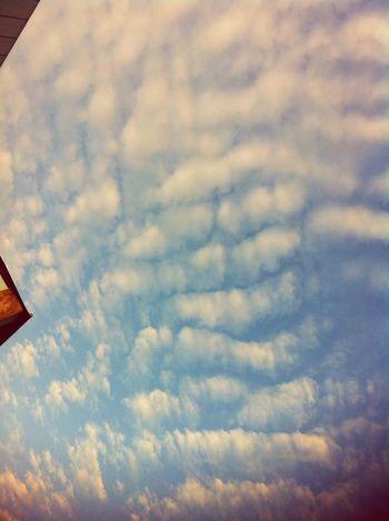 Beauty morning ... Enjoying Life Hello World Taking Photos Cloud And Sky