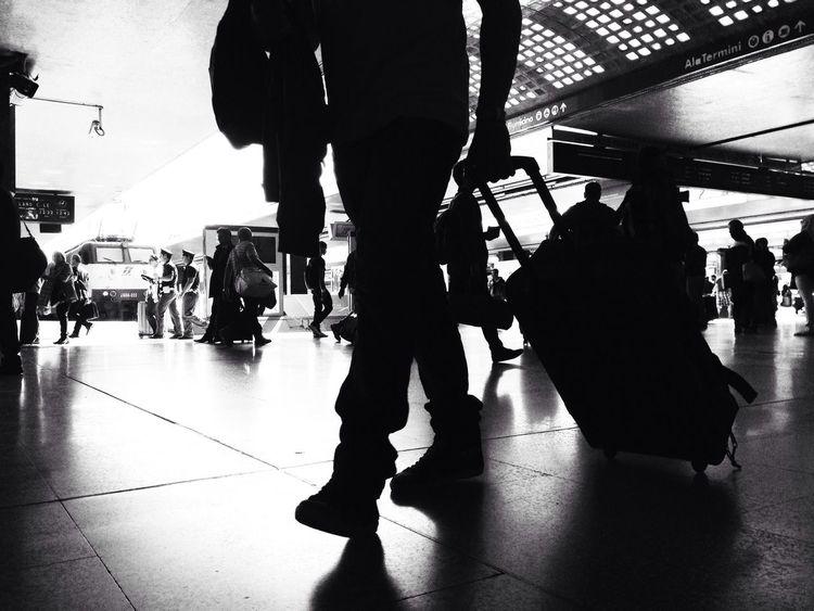 Traveling Blackandwhite Monochrome Monochromeart