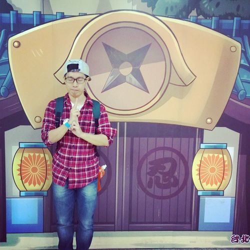 They say i can be anything, so i become a Ninja Throwback 11Nov2014 Taipei Taiwan Taipeistation Imisstaiwan