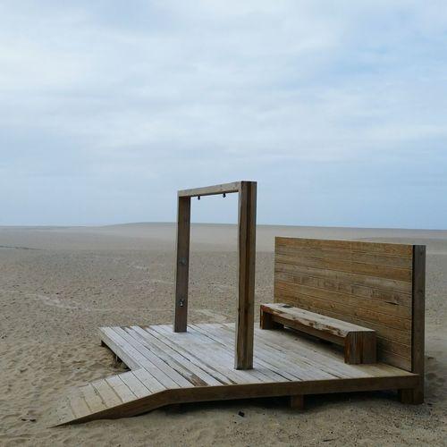 ~> © 2018 Carla de Sousa Sand Beach Sky Horizon Over Water