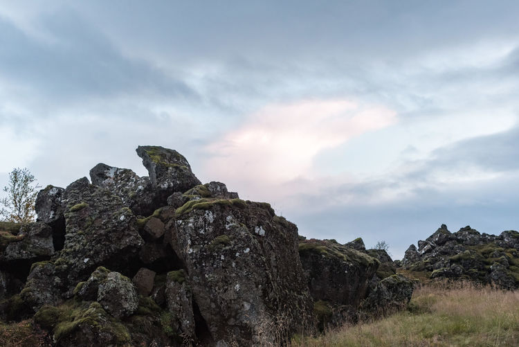 Grass Green Heavy Clouds Iceland Nature Path Pink Averagedayatmydocs! Averaging Blue Day Landscape Moss No People No Trees Outdoors River Road Trip Rocks Sunset Tarveling Tourism