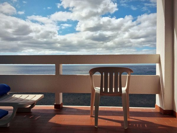 Chair Sea Horizon Over Water Sky Table Seat Cloud - Sky No People Nature Luxury Day Scenics