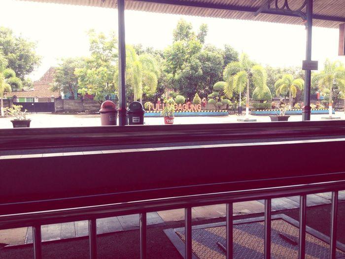 Stasiuntulungagung Train Trainstasion