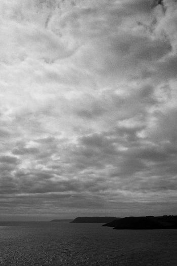 Black and White film Photography at ivandimarcophotography.com Beauty In Nature Blackandwhite Calm Cloud - Sky Day Horizon Over Water Idyllic Langland Bay Nature No People Non-urban Scene Outdoors Overcast Remote Scenics Sea Sea And Sky Seascape Sky Tranquil Scene Tranquility Wales Water