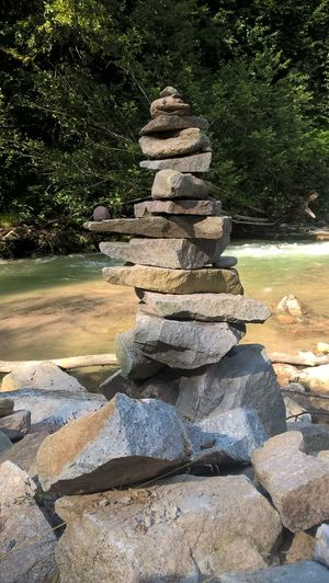 Balance Beauty In Nature Day Nature No People Outdoors Rock - Object Scenics Stack Tranquil Scene Tranquility Tree Water