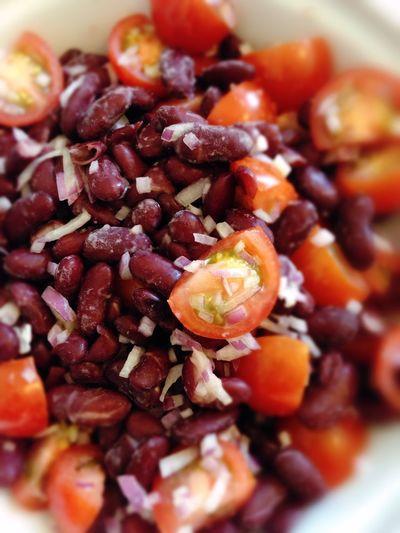POV Kidneybeans Kidney Beans Onions Tomatoes Vegan Food Vegetables Vegetarian Food 365 Photos In 2015