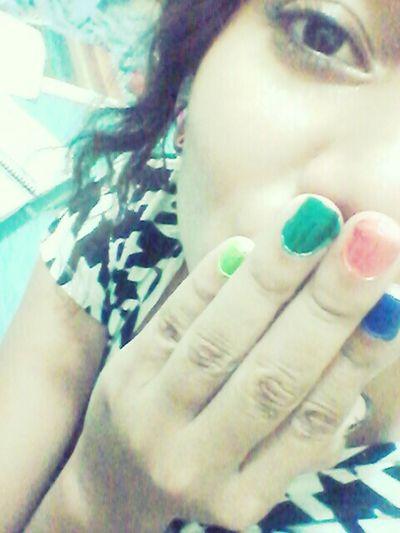 mis uñas ♥