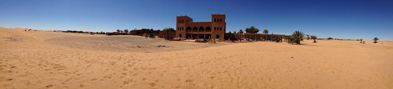 Castle in desert