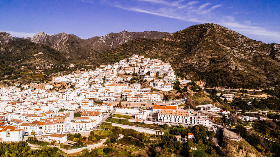 Nature SPAIN Ancient Civilization Architecture Building Building Exterior Built Structure City Cityscape Crowd Crowded Day High Angle View History Mountain Mountain Range Nature Outdoors Residential District Sky Town TOWNSCAPE Travel Destinations
