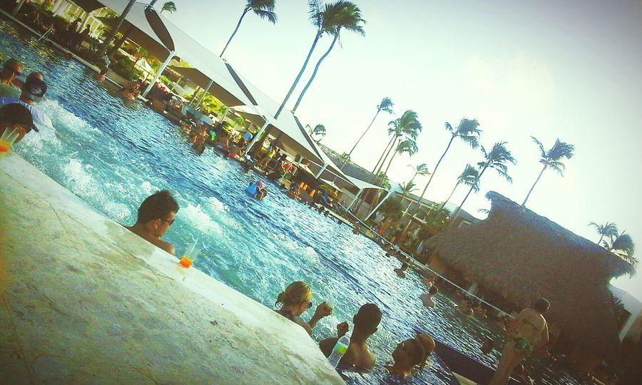 Pool 🏊 Sunny Day Warm Vacation EyeEmBestPics Royalton Family Vacay Relaxing Time People