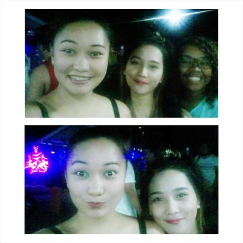 Asians Taking Photos Trio Duo Enjoying Life Night Swimming Like A Kid Groupie Collage Open Edit