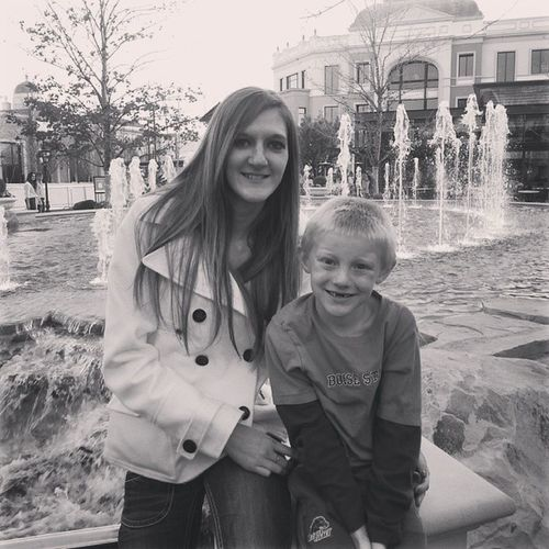 Day 9 I forgot to post yesterday :( Blackandwhite Thevillagemeridian Lilbrother Watershow chillyoutside lovehim