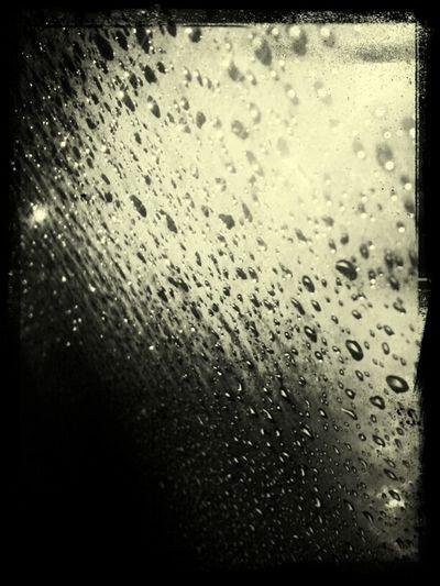 watching the rain thru my window