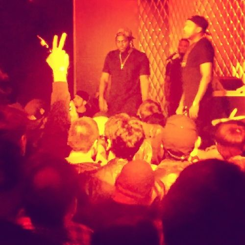 @kingpush concert in hollywood @robfacekillah @coolio0079 Theclipse Goodmusic Thirstytuesday