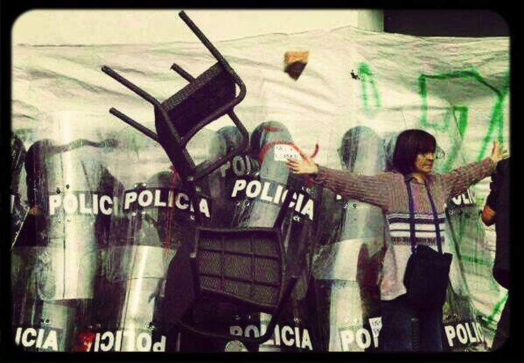 Una foto para la historia de Bogota. First Eyeem Photo