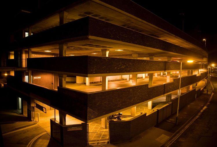 The Architect - 2015 EyeEm Awards The Wyvern Car Park - Swindon at Night. Swindon Wyvern Car Park Wiltshire Night Photography EyeEm Best Shots - Night Photography United Kingdom Architecture Architecture_collection
