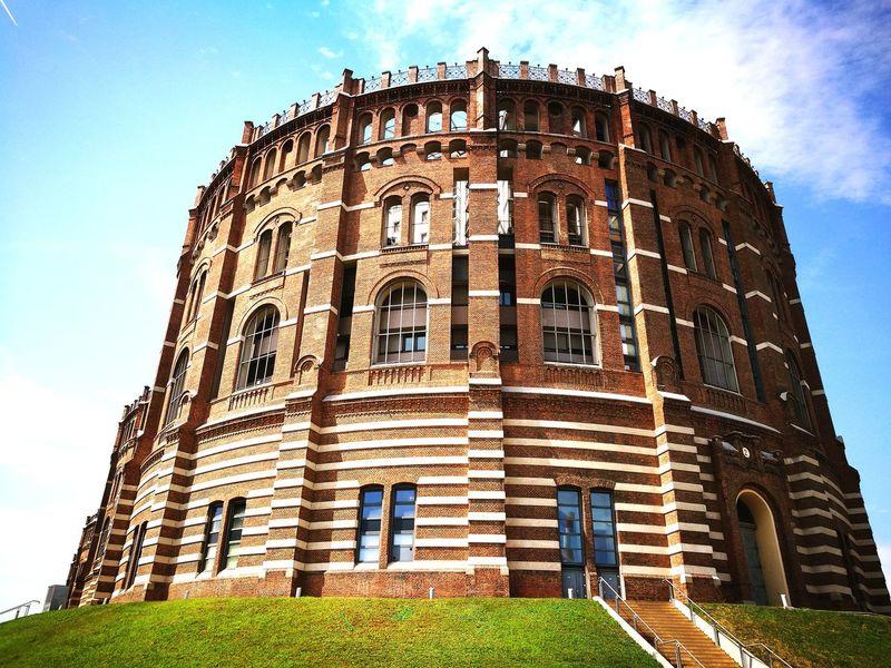 Austria Vienna Gasometer Wien Guglgasse Architecture House Simmering