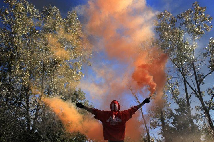 Burning Photographylovers Photography Pure Michigan Michigan Smokebomb SMOKEBOOMB Smoke Tricks
