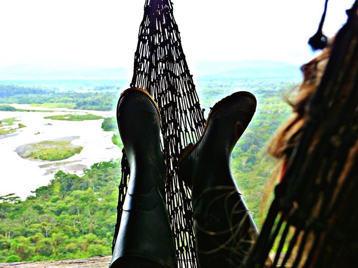Enjoying Life Relaxing Enjoying The View Chillouttime Chillout Ecuador Holidaysmodeon Taking A Break Breathtaking View